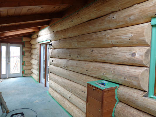 log home restoration