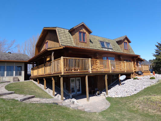 newcastle log home resotration